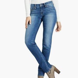 LUCKY BRAND Sweet Straight Leg Blue Jeans 4 / 27